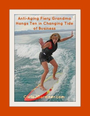 Anti-Aging Fiery Grandma Hangs Ten in Changing Tide of Business